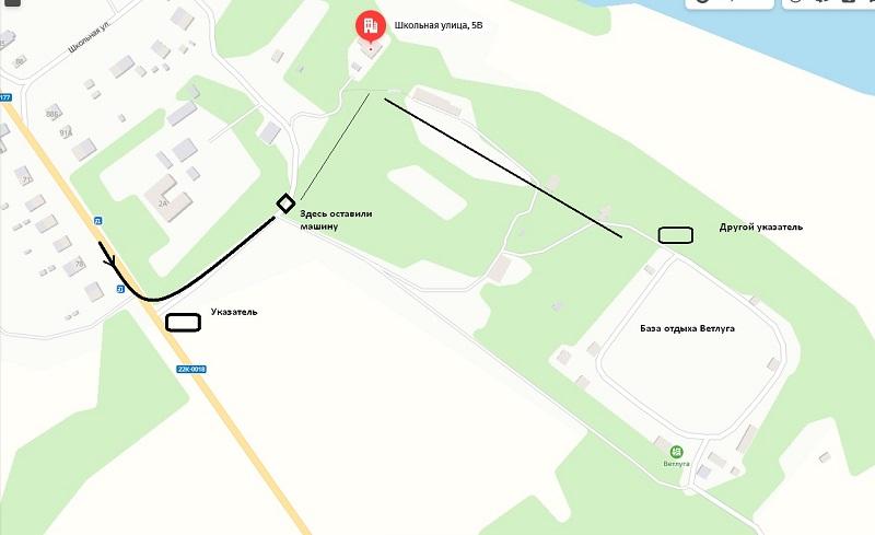 Карта, как добраться до усадьбы Левашовых